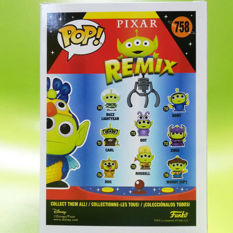 2020 コミコン限定 ファンコ ポップ 『トイストーリー』エイリアンリミックス ケヴィン FUNKO POP! Toy Story Alien Remix Kevin