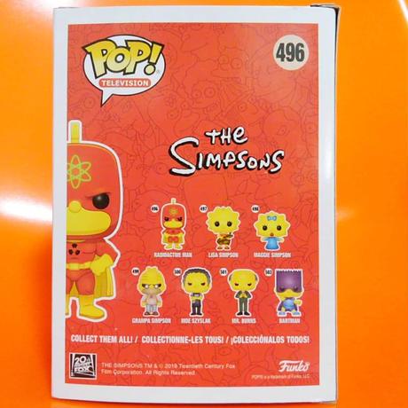 ファンコ ポップ  ザ・シンプソンズ 放射能男 Funko Pop The Simpsons RADIOACTIVE MAN