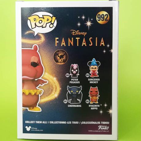 ファンコ ポップ  ディズニー『ファンタジア』80周年記念 ヒヤシンス・ヒッポ   FUNKO POP! Fantasia 80th Anniversary - Hyacinth Hippo