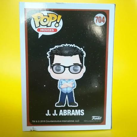 ファンコ ポップ FUNKO POP!  J・J・エイブラムス  FUNKO POP!  J.J. Abrams