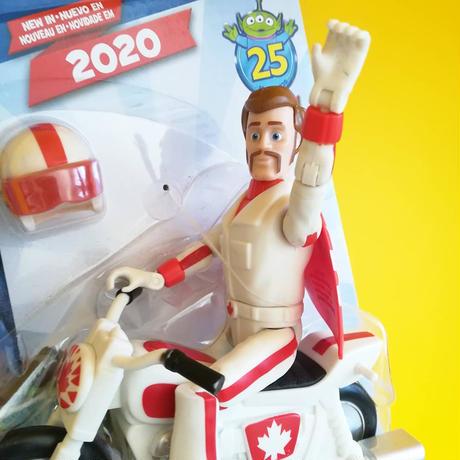 トイストーリー25周年 デューク・カブーン with モーターサイクル アクションフィギュア  TOY STORY  25th Anniversary Duke Caboom