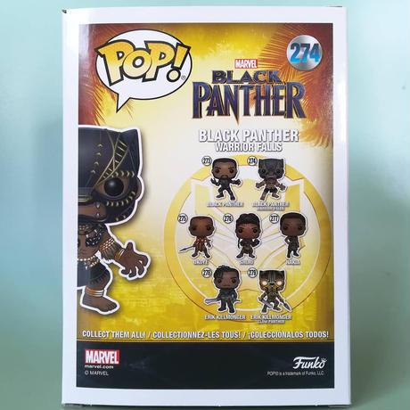 ファンコ  ポップ  『ブラック・パンサー』 ウォリアーフォールス Funko POP! Marvel Black Panther (Warrior Falls)