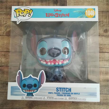 ファンコ ポップ  10インチ   ディズニー『リロ&スティッチ』スティッチ  FUNKO POP! DISNEY  Lilo & Stitch   Stitch (10-Inch)