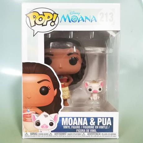 ファンコ ポップ  『モアナと伝説の海』モアナ&プア    Funko Pop! Moana & Pua