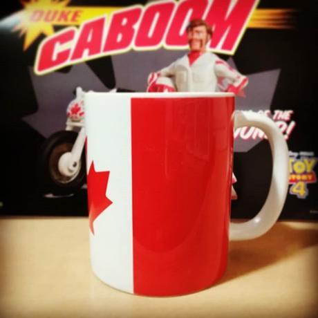 「カナダ」 セラミック製  ジャンボ マグカップ  CANADA Flug  Mug Cup