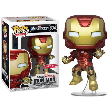 ファンコ ポップ GAMERVERSE『アベンジャーズ 』アイアンマン(アクションポーズ) Funko Pop! Iron Man (Avengers Gamerverse)