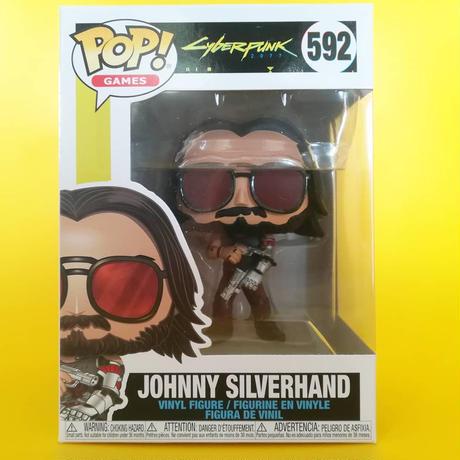 ファンコ ポップ 「サイバーパンク2077」ジョニー・シルヴァーハンド #592 Funko POP! Cyberpunk 2077 Johnny Silverhand