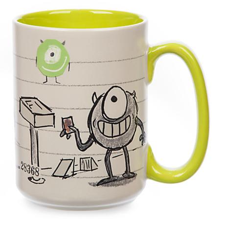 ピクサー『モンスターズ・インク』マイク Art Of Pixar  セラミック製マグカップ