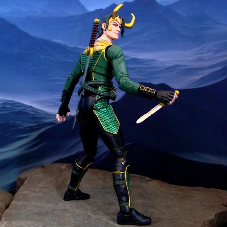 マーベルセレクト 7インチフィギュア シリーズ ロキ   Marvel Select - 7'' LOKI Action Figure