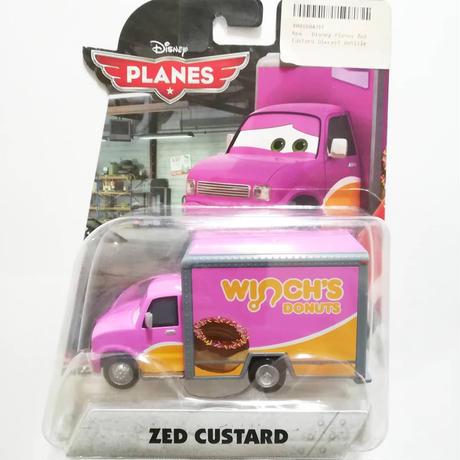 """ディズニー・プレーンズ マテル ダイキャストカー  """"Zed Custerd"""""""