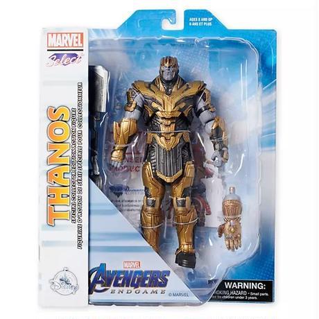 マーベルセレクト 9インチフィギュア   アベンジャーズ:エンドゲーム サノス Marvel Select   Avengers: Endgame Thanos Action Figure