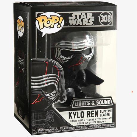 ファンコ  ポップ  『スター・ウォーズ/スカイウォーカーの夜明け』カイロレン(ライト&サウンド)Funko POP!Star Wars Kylo Ren Supreme Leader (L&S)
