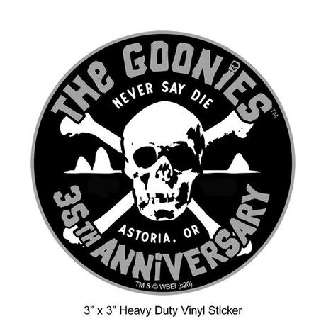アストリア限定『グーニーズ』 35周年記念 ステッカー