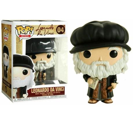 ファンコ ポップ FUNKO POP! レオナルド・ダ・ヴィンチ Leonardo da Vinci