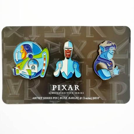 ピクサー アーティストシリーズ ピンバッジ セット PIXAR ARTIST SERIES PINS SET