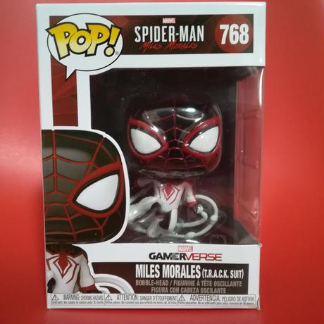 ファンコ ポップ スパイダーマン:マイルズ・モラレス  Funko Pop!Spider-Man Miles Morales Game Track Suit