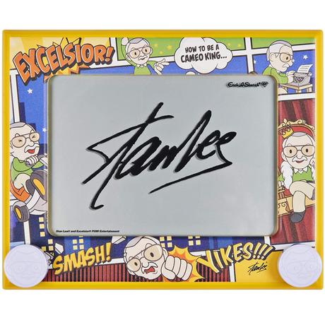 クラシック エッチ・ア・スケッチ 60周年記念 スタン・リー エディション Classic Etch A Sketch  60th anniversary Stan Lee Edition