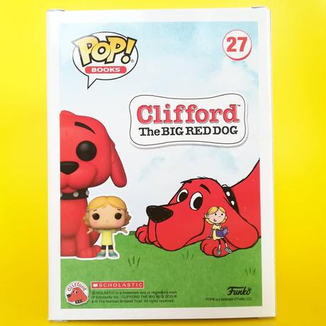 ファンコ ポップ 「 おおきいあかい クリフォード」    FUNKO   POP! Clifford - Clifford with Emily