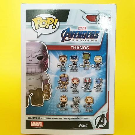 2020 春のコンベンション限定 ファンコ ポップ 『アベンジャーズ:エンドゲーム』サノス  FUNKO POP! Avengers:End Game  Thanos