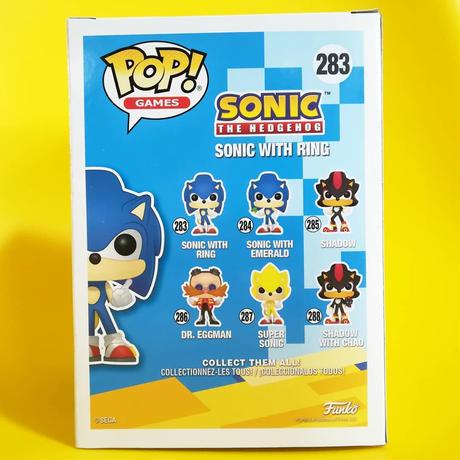 ファンコ ポップ 『ソニック・ザ・ヘッジホッグ』ソニック with リング FUNKO POP!  Sonic the Hedgehog Sonic with Ring