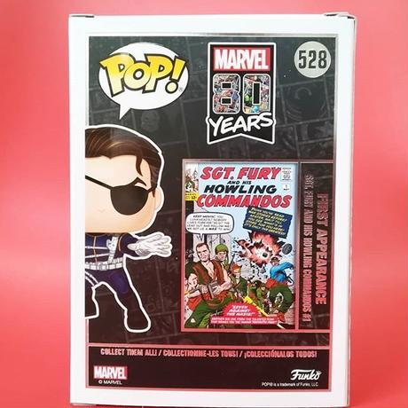 2019 コミコン限定 ファンコ ポップ マーベル80周年記念 ニック・フューリー Funko Pop! Marvel: 80 Years Nick Fury