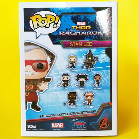 ファンコ ポップ  スタン・リー「マイティ・ソー バトルロイヤル」 Funko Pop! Stan Lee  -Thor: Ragnarok-
