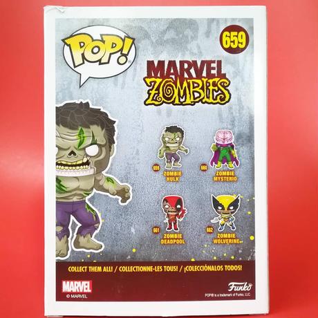 ファンコ ポップ  マーベル・ゾンビーズ  ゾンビ・ハルク FUNKO POP! MARVEL ZOMBIES - Zombie Hulk