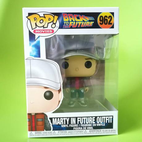 ファンコ ポップ 「バック・トゥ・ザ・フューチャー」マーティ in フューチャーアウトフィット FUNKO POP BTTF - Marty in Future Outfit