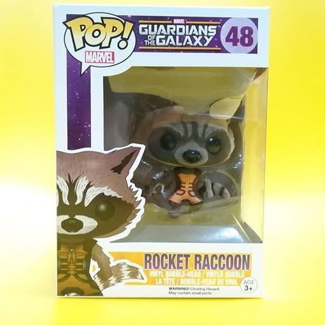 ファンコ ポップ FUNKO POP! 2014 コミコン限定 ガーディアンズ・オブ・ギャラクシー ロケット(フロックド版)Rocket Raccoon (Flocked)