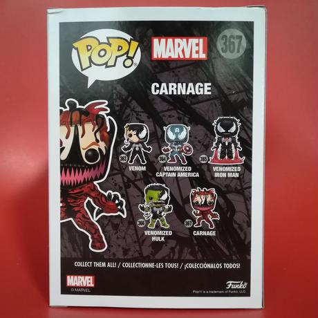 ファンコ ポップ ヴェノム  カーネイジ Funko Pop! Marvel Venom Carnage Cletus Kasady