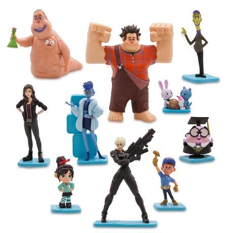 『シュガー・ラッシュ オンライン』 フィギュアセット  Ralph Breaks the Internet Deluxe Figurine Set