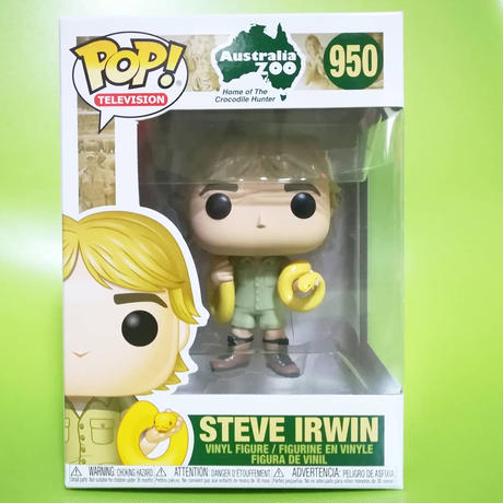 ファンコ  ポップ 『クロコダイル・ハンター』スティーブ・アーウィン  Funko Pop!The Crocodile Hunter Steve Irwin