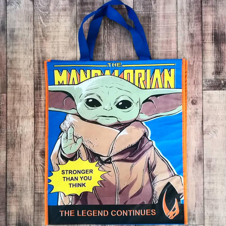 スターウォーズ『マンダロリアン』 ショッピング・バッグ(大)  Star Wars: The Mandalorian The Child Reusable Tote
