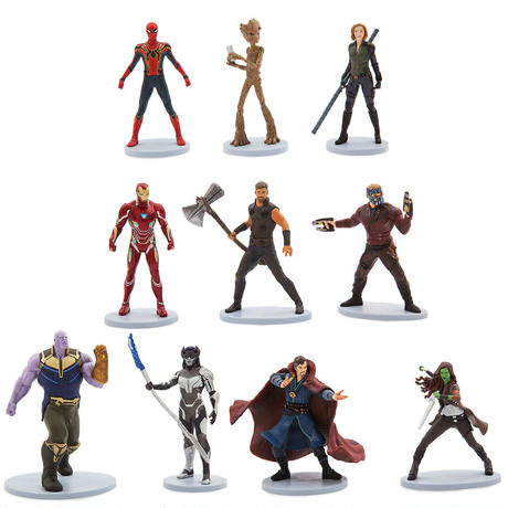 アベンジャーズ/インフィニティ・ウォー  フィギュアセット  Marvel's Avengers: Infinity War Deluxe Figure Se