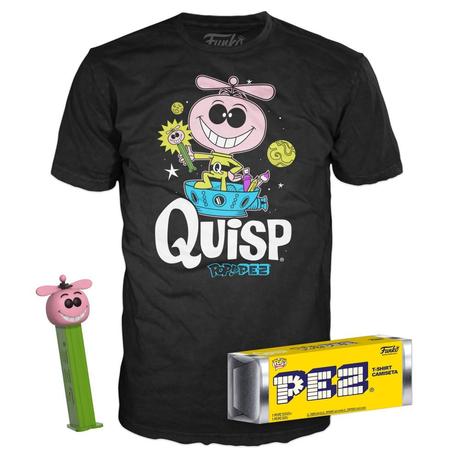 ファンコ 「クイスプ」  ペッツ&Tシャツ セット FUNKO  Quisp Pez with Tee Bundle Limited Edition