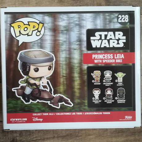 ファンコ ポップ  「スターウォーズ ジェダイの帰還」レイア姫 with スピーダーバイク FUNKO  POP! Star Wars Princess Leia with Speeder Bike