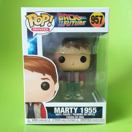 ファンコ ポップ 「バック・トゥ・ザ・フューチャー」マーティ 1955  FUNKO POP BTTF Marty 1955