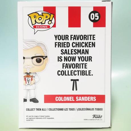 ファンコ ポップ  KFC カーネル・サンダース    Funko Pop! KFC - Colonel Sanders