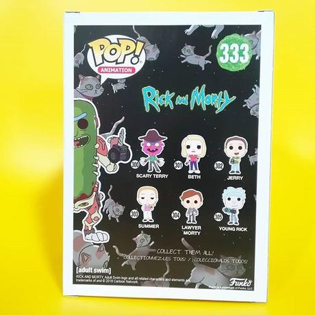 ファンコ ポップ FUNKO POP! リック アンド モーティ   Pickle Rick (Translucent)