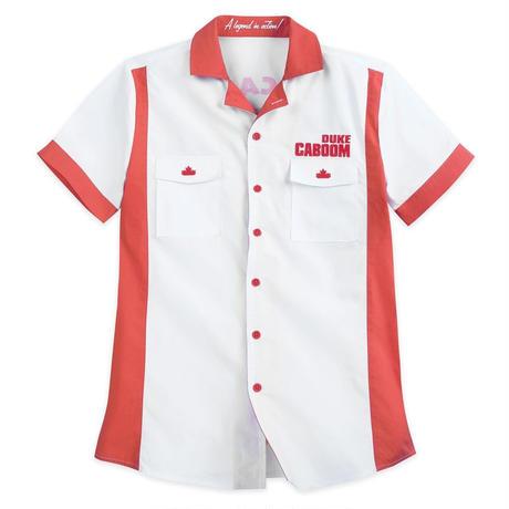 トイストーリー4 デューク・カブーン ボタンアップシャツ  Toy Story 4 Duke Caboom Button-Up Shirt for Men