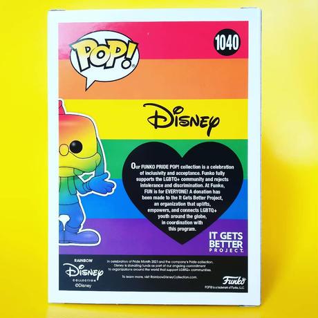 ファンコ ポップ ディズニー グーフィー【レインボー】   FUNKO POP!Disney Goofy (Rainbow)