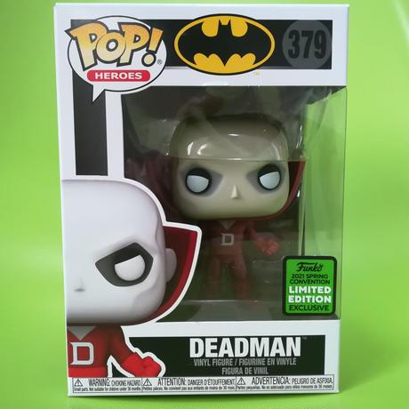 2021 春のコンベンション限定 ファンコ ポップ「バットマン」デッドマン  Funko Pop! DC Comics Deadman