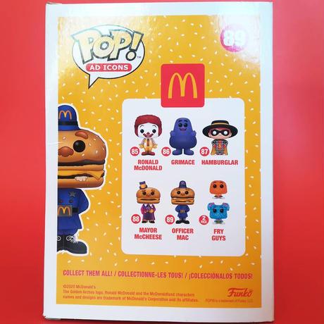 ファンコ ポップ 『マクドナルド』ビックマック・ポリス FUNKO POP!McDomald's Officer Big Mac