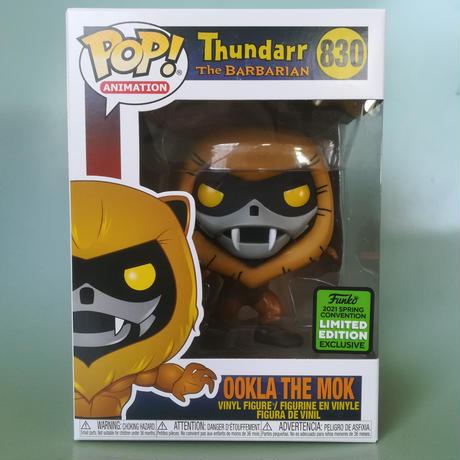 2021 春のコンベンション限定 ファンコ ポップ 『サンダー・ザ・バーバリアン』 Funko Pop! Thundarr the Barbarian  Ookla the Mok