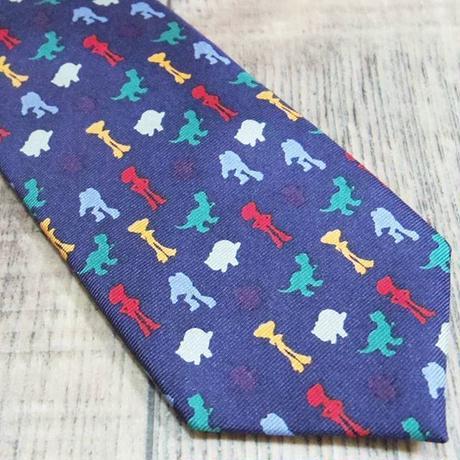 『トイストーリー』 子供用 シルク製 ネクタイ