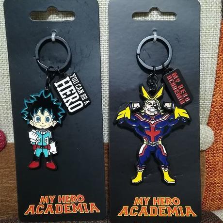 『僕のヒーローアカデミア』MY HERO ACADEMIA  金属製キーチェーン Key Chain