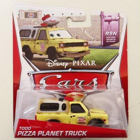 ディズニー・ピクサー カーズ  2014 マテル  キャラクターカー ピザプラネット・トラック Pizza Planet Truck Todd