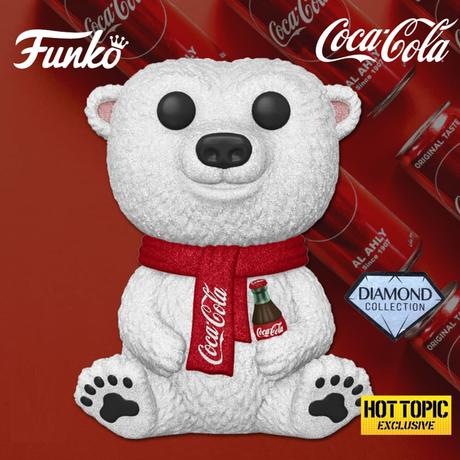 ファンコ ポップ  コカ・コーラ ポーラーベア【ダイアモンド版】 FUNKO  POP!   Coca-Cola Polar Bear  (Diamond Collection)