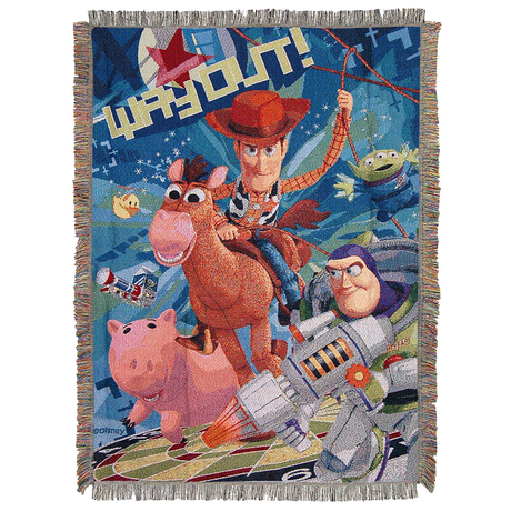 トイストーリー タペストリー・ブランケット  Toy Story   Tapestry Throw Blanket