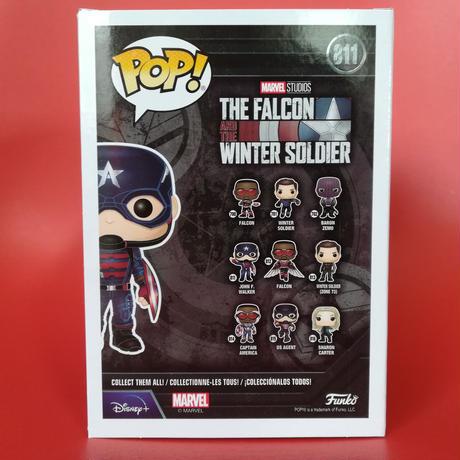 ファンコ ポップ『ファルコン&ウィンターソルジャー』ジョン F.ウォーカー Funko POP!Marvel The Falcon & the Winter Soldier John F.Walker